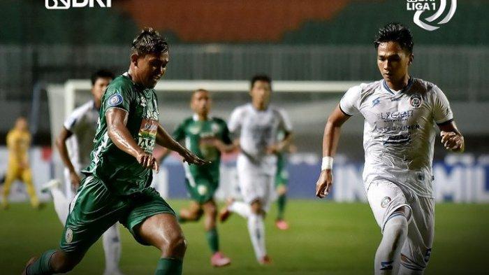 Hasil Liga 1 2021 - Sempat Tertinggal, PSS Sleman Tumbangkan Arema FC 2-1