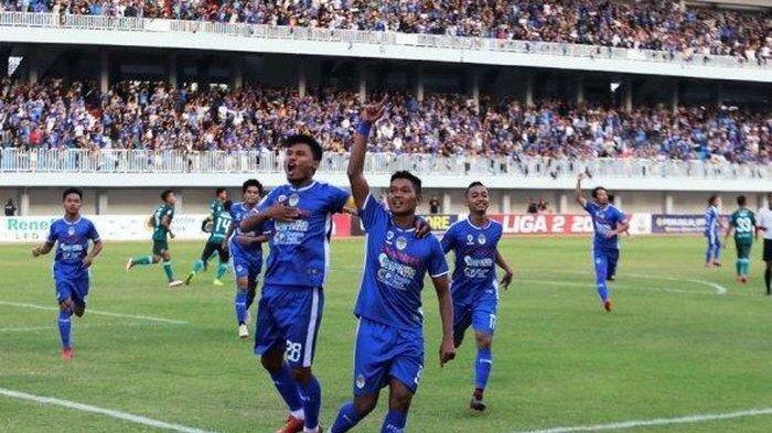 Hasil Liga 2 2019 - Tumbangkan Persatu Tuban, PSIM Yogyakarta Buka Peluang Lolos 8 Besar