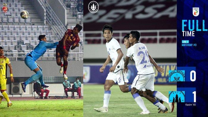 Hasil, Klasemen, Top Skor Liga 2 Setelah Sriwijaya FC Menang, PSG Pati Seri, Dewa United Menang
