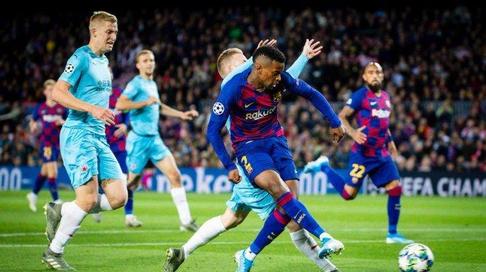 Hasil Liga Champions 2019 - Messi Buang Peluang, Barcelona Imbang Lawan Slavia Praha