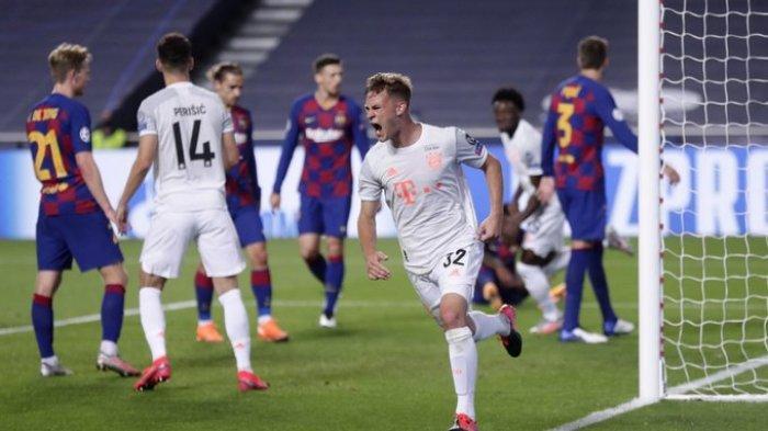 Hasil Liga Champions - Kalahkan Barcelona 8-2, Munchen Lolos ke Semifinal Liga Champions