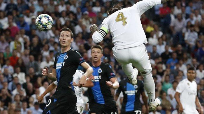 Hasil Liga Champions 2019 - Gol Casemiro Selamatkan Real Madrid dari Kekalahan atas Club Brugge