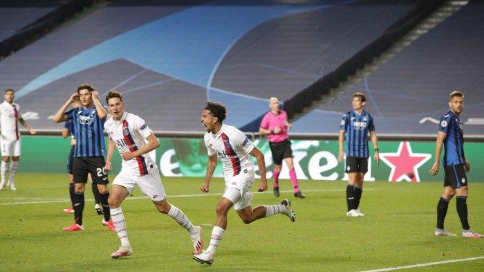 Hasil Liga Champions - Comeback Epic! Dua Gol di Injury Time, PSG Bungkam Atalanta 2-1