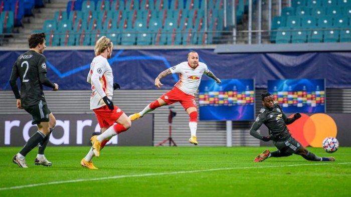 Hasil Liga Champions - RB Leipzig 3-2 Manchester United, MU Gagal Lolos ke Babak 16 Besar