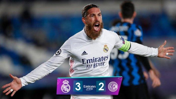 Hasil Liga Champions Real Madrid vs Inter Milan, Gol Rodrygo Jadi Penentu Kemenangan Real Madrid