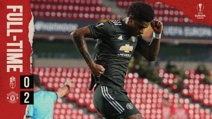 Hasil Granada vs Manchester United, Marcus Rashford & Bruno Fernades Cetak Gol, MU Menang
