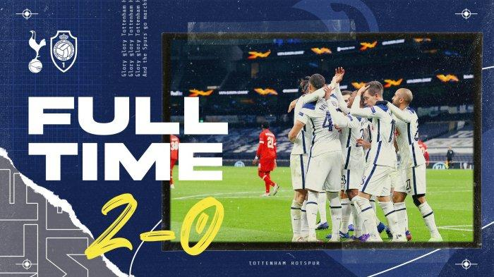 HasilLiga EuropaTottenham vsAntwerp, Vinicius & Lo Celso Cetak Gol, Spurs Menang, Kudeta Klasemen