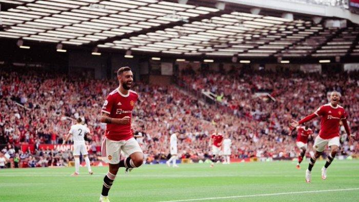 Hasil Liga Inggris - Bruno Fernandes Hattrick, Manchester United Gulung Leeds United 5-1
