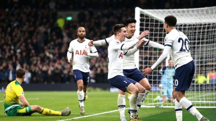 Prediksi & Link Live Streaming Aston Villa vs Tottenham Hotspur Liga Inggris Minggu 16 Februari 2020