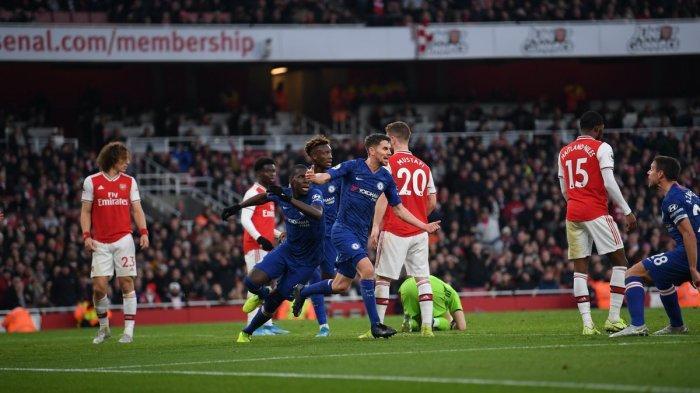 Jadwal Bola Liga Inggris Malam Ini, Big Match Chelsea vs Arsenal, Everton vs Newcastle