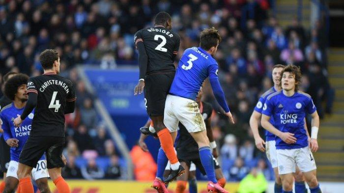 Hasil Liga Inggris - Chelsea Tahan Imbang Leicester City, Antonio Rudiger Cetak Brace