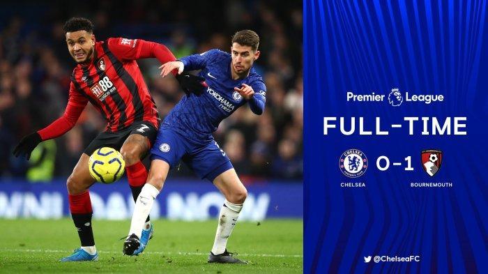 Hasil Chelsea vs Bournemouth, Kalah Lawan Tim Papan Bawah, Inkonsisten Chelsea Berlanjut