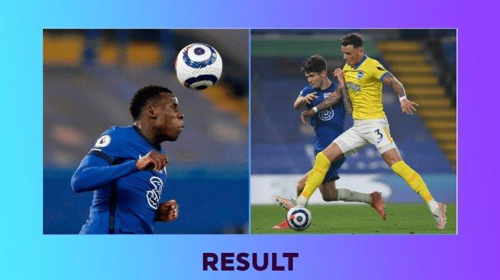 Hasil, Klasemen, Top Skor Liga Inggris Setelah Chelsea Imbang Lawan Brighton, Harry Kane 21 Gol
