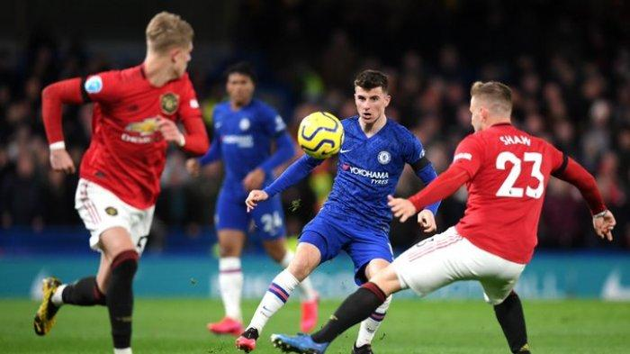 Hasil Liga Inggris Chelsea vs Manchester United, Permalukan The Blues Dikandang, MU Menang 2-0