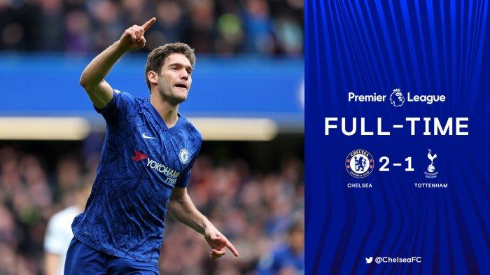 Hasil Liga Inggris Chelsea vs Tottenham, Dua Gol Berkelas Chelsea Kalahkan Spurs di Derby London