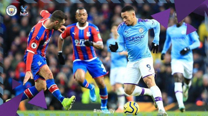 Hasil Liga Inggris - Diwarnai Gol Bunuh Diri, Manchester City Ditahan Imbang Crystal Palace