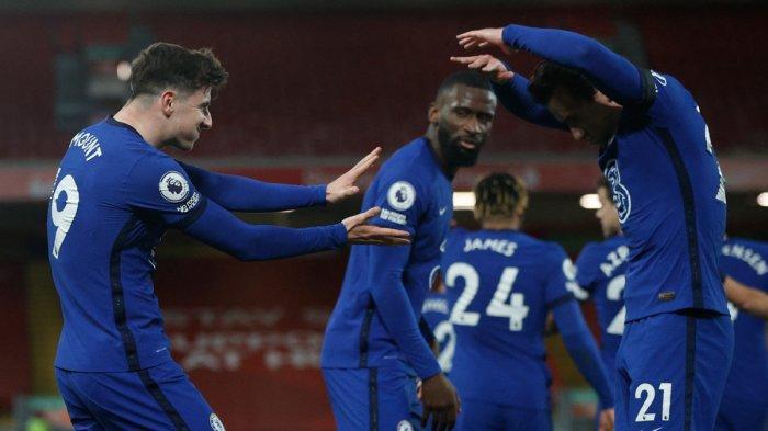 Hasil, Klasemen, Top Skor Liga Inggris Setelah Chelsea Menang, Liverpool Kalah, Mohamed Salah 17 Gol