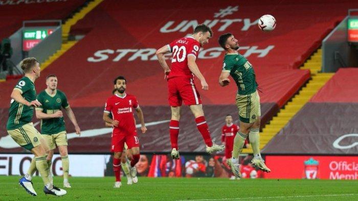 Hasil Liga Inggris - Diogo Jota Sumbang Satu Gol, Liverpool Tekuk Sheffield United 2-1