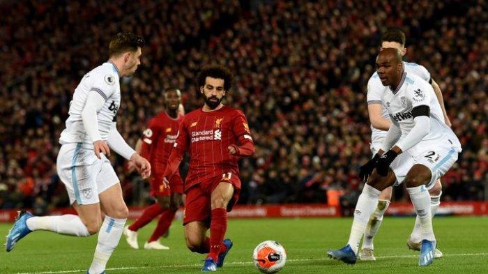 Hasil Liga Inggris - Mo Salah Cetak Brace, Liverpool Tumbangkan Brighton & Hove Albion 3-1