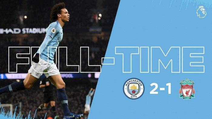 HASIL LIGA INGGRIS Man City vs Liverpool - City Beri Kekalahan Pertama Liverpool dalam Drama 3 Gol