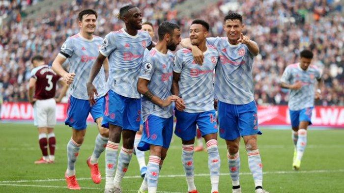 Hasil Liga Inggris - Cristiano Ronaldo Cetak Gol, Manchester United Tekuk West Ham 2-1