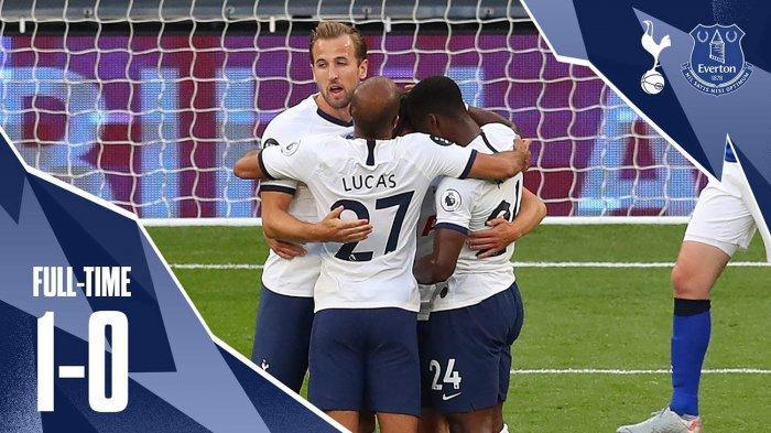 Hasil Liga Inggris Tottenham Hotspur vs Everton, Spurs Menang Tipis, Son - Hugo Lloris Saling Dorong