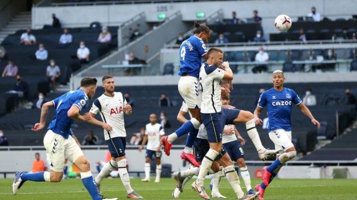 Hasil Liga Inggris - Kalahkan Tottenham Hotspur, Gol Dominic Calvert Lewin Bawa Kemenangan Everton