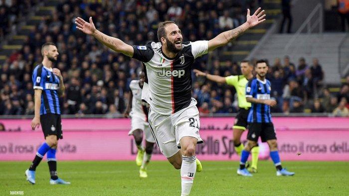 Hasil Liga Italia 2019 - Tanpa Cristiano Ronaldo, Juventus Bungkam Atalanta 3-1, Higuain Brace
