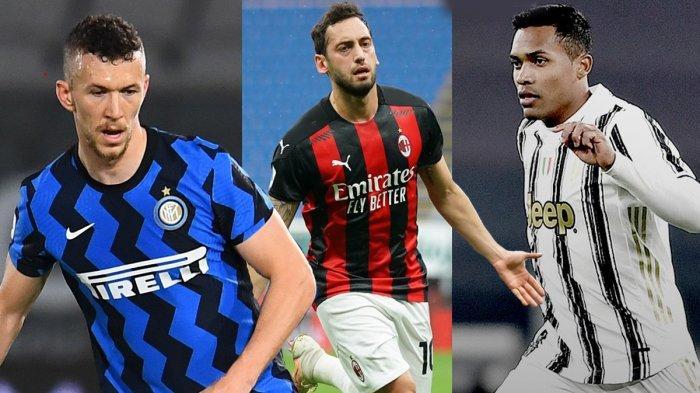 Hasil, Klasemen, Top Skor Liga Italia Setelah AC Milan Kalah Inter Seri Juve Menang, Ronaldo 25 Gol