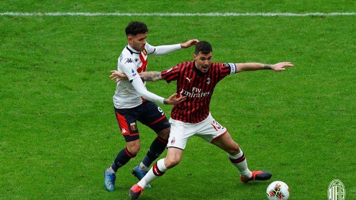AC Milan harus mengakui keunggulan Genoa dalam pekan ke-26 Serie A Liga Italia, Minggu (8/3/2020).