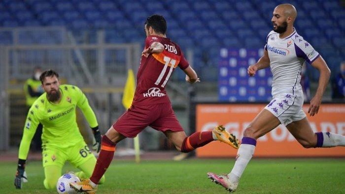 Hasil Liga Italia - AS Roma Bungkam Fiorentina 2-0, Eks Barcelona Sumbang Satu Gol