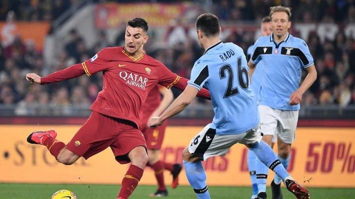 Hasil Liga Italia - Ciptakan 22 Tembakan ke Gawang, AS Roma Ditahan Imbang Lazio 1-1