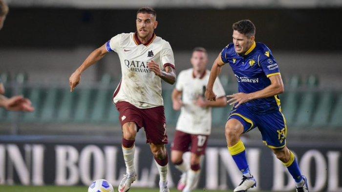 Hasil Liga Italia - Edin Dzeko Tak Mau Bermain, AS Roma Imbang Lawan Hellas Verona