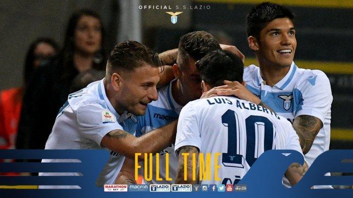 Hasil Liga Italia Inter Milan vs Lazio - Mauro Icardi Masih Absen, Inter Milan Kalah di Kandang