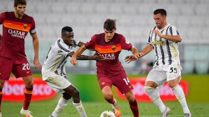 Hasil Liga Italia Juventus vs AS Roma: Tanpa Cristiano Ronaldo, Nyonya Tua Kalah Telak