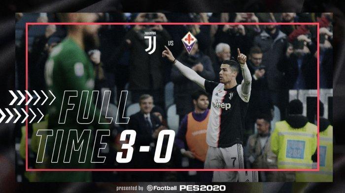 Hasil Liga Italia Juventus vs Fiorentina, Juventus Menang, Cristiano Ronaldo 2 Gol, Matthijs 1 Gol