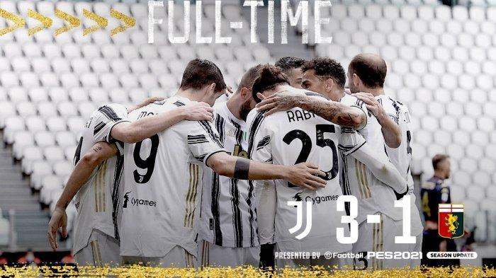 Hasil Juventus vs Genoa, Kulusevski, Alvaro Morata, Weston McKennie Cetak Gol, Juventus Menang