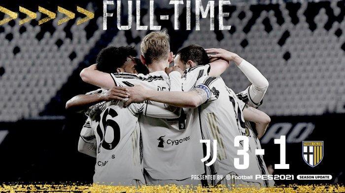 Hasil Liga Italia Juventus vs Parma - Juventus menang 3-1, dua gol Juventus dicetak Alex Sandro, 1 gol lainnya Matthijs de Ligt