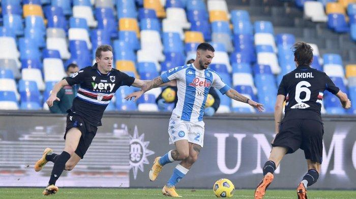Siaran Langsung Napoli vs Bologna Liga Italia Malam Ini, Kick Off 02.45 Live TV Online RCTI!