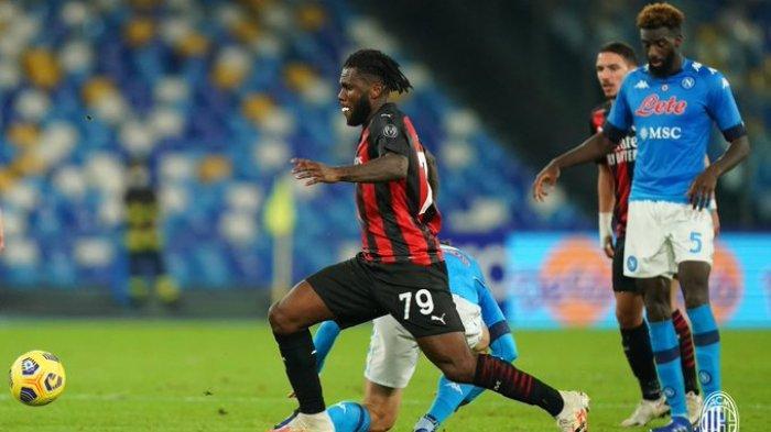 Hasil Liga Italia - AC Milan Permalukan Napoli, Zlatan Ibrahimovic Sumbang Dua Gol