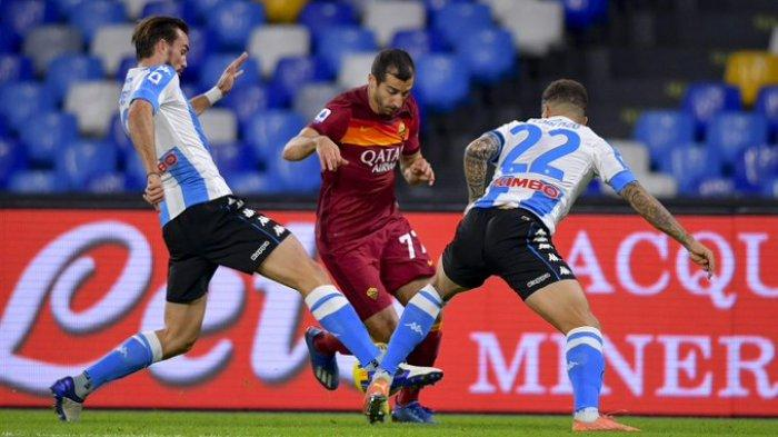 Hasil Liga Italia - Napoli Hajar AS Roma 4-0, Gol Freekick Insigne khas Maradona