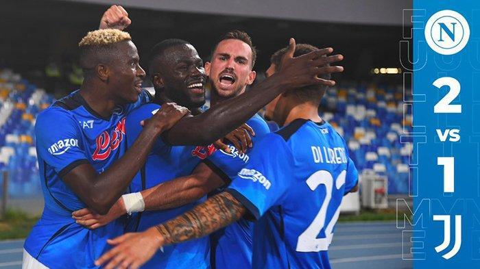 Hasil Napoli vs Juventus - Napoli menang 2-1 atas Juventus di pekan 3 Serie A Liga Italia 2021-2022, Sabtu (11/9/2021) malam WIB.