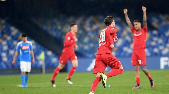Hasil Liga Italia - Rekor Buruk Gennaro Gattuso, Napoli Tumbang Lawan Fiorentina