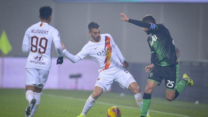 Hasil Liga Italia - Bermain Dikandang, Sassuolo Bantai AS Roma 4-2, Francesco Caputo Brace