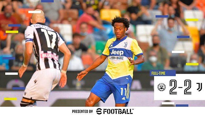 Hasil Udinese vs Juventus, Szczesny Blunder, Gol Cristiano Ronaldo Dianulir Wasit, Juventus Imbang