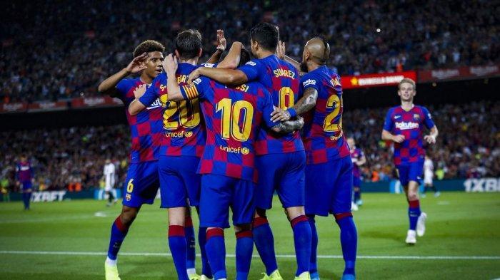 LINK Live Streaming Barcelona vs Valladolid Liga Spanyol Malam Ini via Vidio Premier & MAXStream