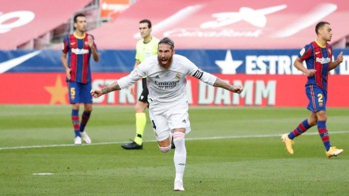 Jelang Liverpool vs Real Madrid, Kabar Buruk Los Blancos, Sergio Ramos Positif Covid-19