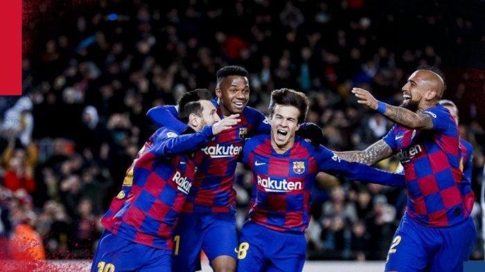 Hasil Liga Spanyol - Gol Lionel Messi Bawa Barcelona Kalahkan Granada, Kembali Geser Real Madrid