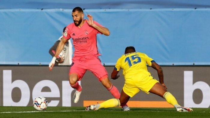 Hasil Liga Spanyol - Karim Benzema Melempem, Real Madrid Takluk Lawan Tim Promosi