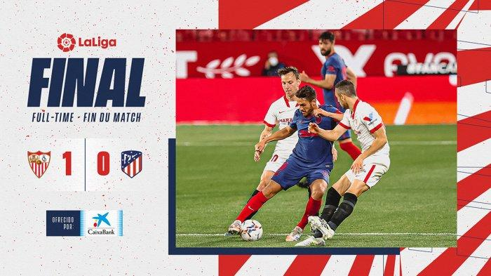 Hasil Sevilla vs Atletico Madrid, Marcos Acuna Cetak Gol, Luis Suarez Kartu Kuning, Atletico Kalah